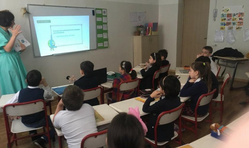 ჰენკელის მდგრადი განვითარების პროექტი სკოლებში