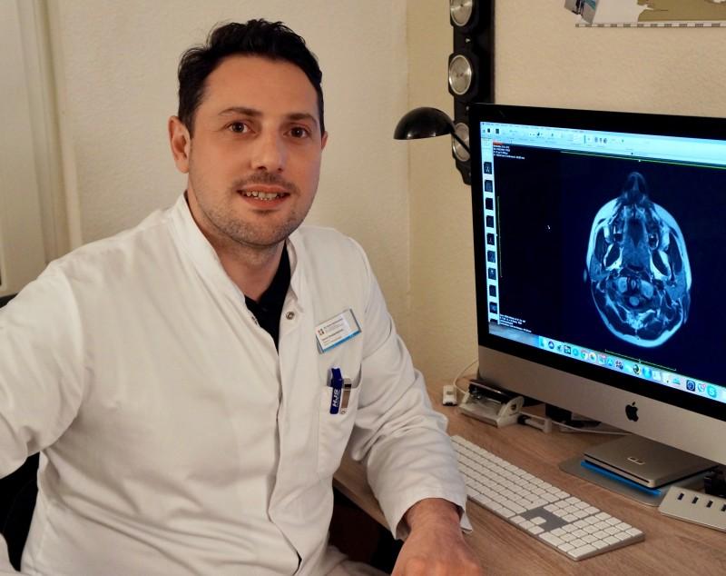 ქ. არნსბერგის ნეიროქირურგიული კლინიკის წამყვანი ნეიროქირურგის - დავით შალამბერიძის ვიზიტი ალ. ალადაშვილის სახ. კლინიკაში