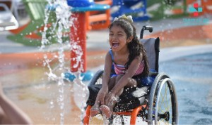 მსოფლიოში პირველი აკვა პარკი შშმ ბავშვებისთვის