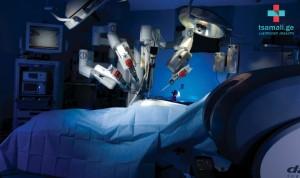 პირველად ამიერკავკასიაში, ულტრათანამედროვე  რობოტულ ქირურგიული ტექნოლოგიების დემონსტრირება!