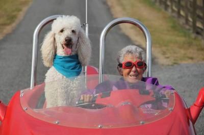 91 წლის ქალბატონი, რომელმაც კიბოს მკურნალობას მოგზაურობა არჩია